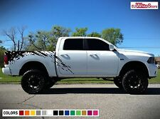Decal Sticker Vinyl Side Bed Mud Splash Kit for Dodge Ram 2009-2017 Hemi Rear