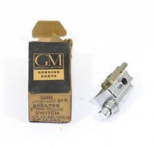 OE 1963 Oldsmobile 1964 Pontiac Trunk Lock Vacuum Release Switch ~ 4884799