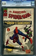THE AMAZING SPIDER-MAN #23 CGC 8.0 -- 3RD GREEN GOBLIN JIM SHOOTER LEE / DITKO