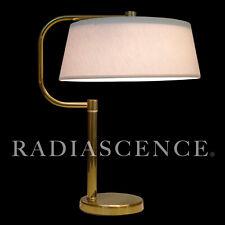 WALTER VON NESSEN STUDIO NY ART DECO STREAMLINE MODERN BRASS ARM TABLE LAMP 30'S