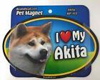 I LOVE MY AKITA Akitas Dog Gifts, Cars, Trucks. Lockers, Refrigerator