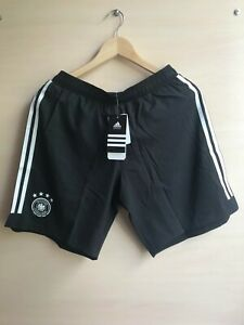 5+/5 AUTHENTIC Deutschland 2018/2019 home Size M Germany shorts soccer Adidas