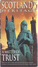 VHS: SCOTLAND'S HERITAGE A MATTER OF TRUST