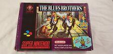 * Super Nintendo * The Blues Brothers * FAH * SNES * Boxed *