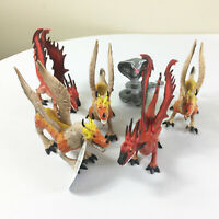 Lot of Chomping Mouth Dragons & Snake Action Figures Toys Grin Studio