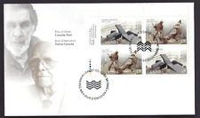 Canada  FDC  # 1954 - 1955 ULpb    BRONZE SCULPTORS  2002  New Fresh Unaddressed