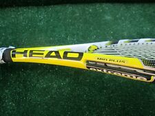 Tennis Head Extreme Mid Plus Microgel Tennis Racket Well Used but Solid, 4 1/2