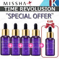 MISSHA Time Revolution Night Repair Borabit Ampoule 50ml (=10ml * 5EA)