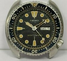Vintage SEIKO 6309-7040 Automatic 150m Sport Diver Day-Date Men's Watch