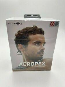 AfterShokz - Aeropex Wireless Bone Conduction Open-Ear Headphones - Cosmic Black