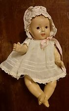 7-in all compo marked Arranbee ( R &B) baby doll in original clothing, nice!