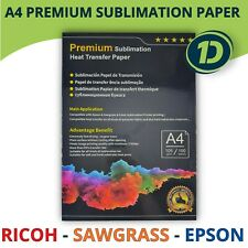 A4 Dye Premium Sublimation Paper For Ricoh Sawgrass Epson Printer Heat Transfer