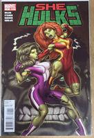 2010 She-Hulks #1 Dynamic Forces Ryan Stegman Autographed 1/150 w/LoA High Grade