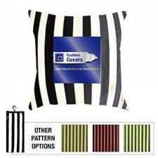 Velvet Striped Decorative Cushions
