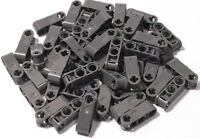 LEGO Technik - 50 Verbinder 1x3, 2 x Pinloch Achsloch dunkelgrau  42003 NEU (L7)
