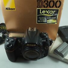 Nikon D300 Digital 12MP SLR Camera Body,Battery.Charger Boxed