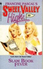 Slam Book Fever  Sweet Valley High #48  1989 by Kate William FREE SHIPPING