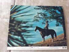 John Wayne In Chisum 1970 Litho USA