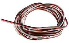 10m Servo Cable de alambre 22awg Futaba Jr 3 Pines