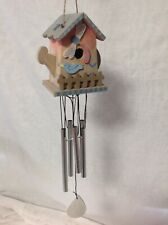 Watering Can Birdhouse Wind Chime