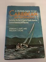 A Cruising Guide to the CARIBBEAN & THE BAHAMAS 1ST Edition Hardcover 1976 EUC