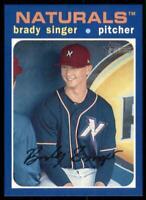 2020 Heritage Minors Base Blue #149 Brady Singer /99