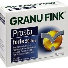 GRANU FINK Prosta forte 500 mg Hartkapseln 80 St PZN 10011921