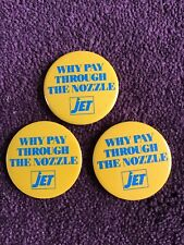 Why Pay Through The Nozzle Jet Pin Badge Button X 3.