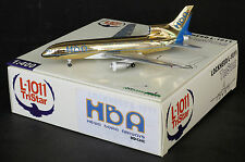 "Hewa Bora Airways L-1011 Reg:9Q-CHC ""Golden"" Sample Jet-X 1:400 Diecast Models"