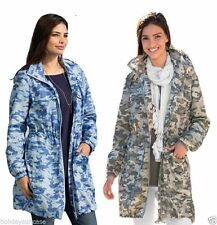 Zip Knee Length Raincoat Outdoor Coats & Jackets for Women