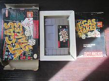 Super Nintendo SNES Complete boxed Vegas Stakes