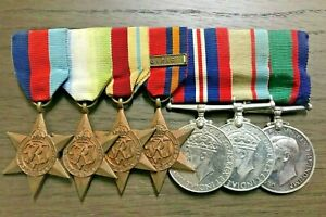 WW2 Royal Australian Navy Medal Group of 7 RANR LSGC HMAS Nestor Sunk Crete 1942