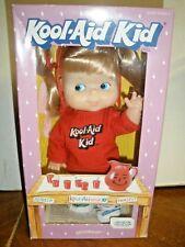 "NEW Vintage 1988 Kool-Aid Kid 9"" Soft Doll w/ Original Outfit Goldberger pants"