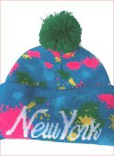 Bonnet New York -Doublé -100% acrylique - Homme/Femme ( Fin de stock)