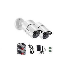 ZOSI 1080P Kit 2pcs Caméra TVI Vidéo surveillance Extérieure Intérieur Sécurité