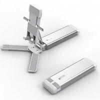 UK_ Folding Adjustable Extendable Desktop Phone Tablet Stand Holder Cradle Dock