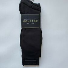 NWT Gold Toe Heritage Metropolitan brown dress socks size 6-12.5 3 pair