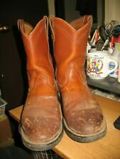 """Ariat 10"""" Sierra Leather Round Toe Western Cowboy Work Boots 11D Style 10002428"""