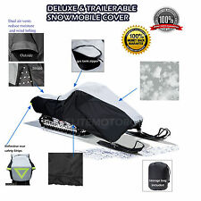 SKI DOO FREESTYLE 300F 550F DELUXE SNOWMOBILE TRAILERABLE SLED COVER