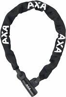 Axa Bike Lock Chain Linq City 100 1000mm x 7mm Black