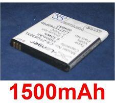 Batería 1500mAh tipo Li3715T42P3h504857 Li3715T42P3h504857-H Para ZTE U830