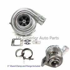 Aftermarket Turbo Charger T76 Anti-Surge Comp .80 A/R T4 .68 A/R P-trim Turbine