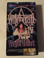 WITCHCRAFT IV, VIRGIN HEART, VHS