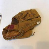 Dick Groat Signed 1960's Game Model Baseball Glove With JSA COA