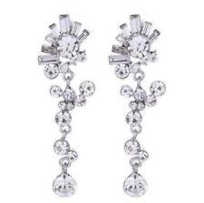 Versilberte Diamant Modeschmuckstücke