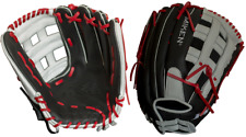 """2020 Miken PS135-PH 13.5"""" Player Series Slowpitch Softball Glove Black/Red/White"""