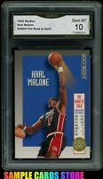 1992 Skybox USA Road to Gold #USA4 Karl Malone Graded GMA 10 GEM MINT (PSA 10?)