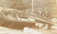 .1917 RARE REAL PHOTO POSTCARD, SPERM WHALE, THE BLUFF, DURBAN, SOUTH AFRICA.
