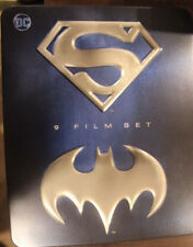 SUPERMAN BATMAN ANTHOLOGY CULT RARE OOP DELETED BLU-RAY 9 DISC BOX SET EDITION
