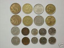 BELGIUM 18 different COINS